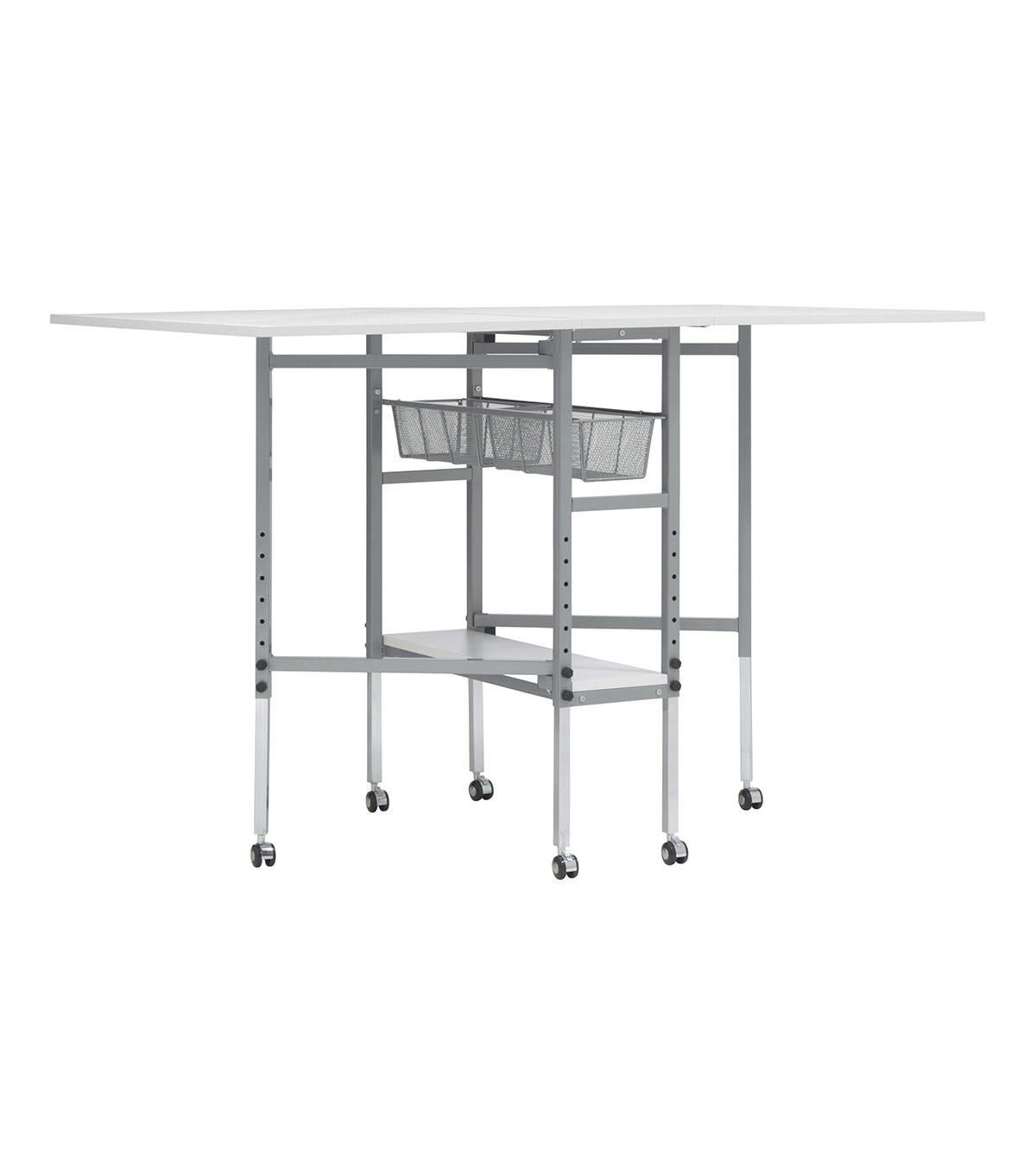 Studio Designs Sew Ready Cutting Table with Grid-White