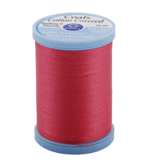 Coats & Clark Cotton Covered Quilting & Piecing Thread 250 Yards , 1840 Hot Pink