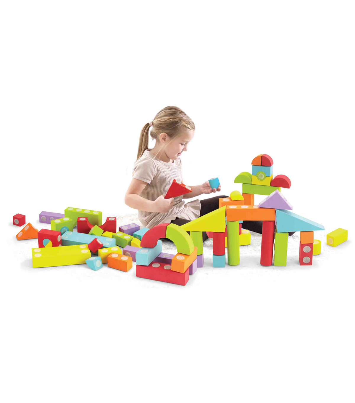 Velcro Brand Blocks 60 Piece Set