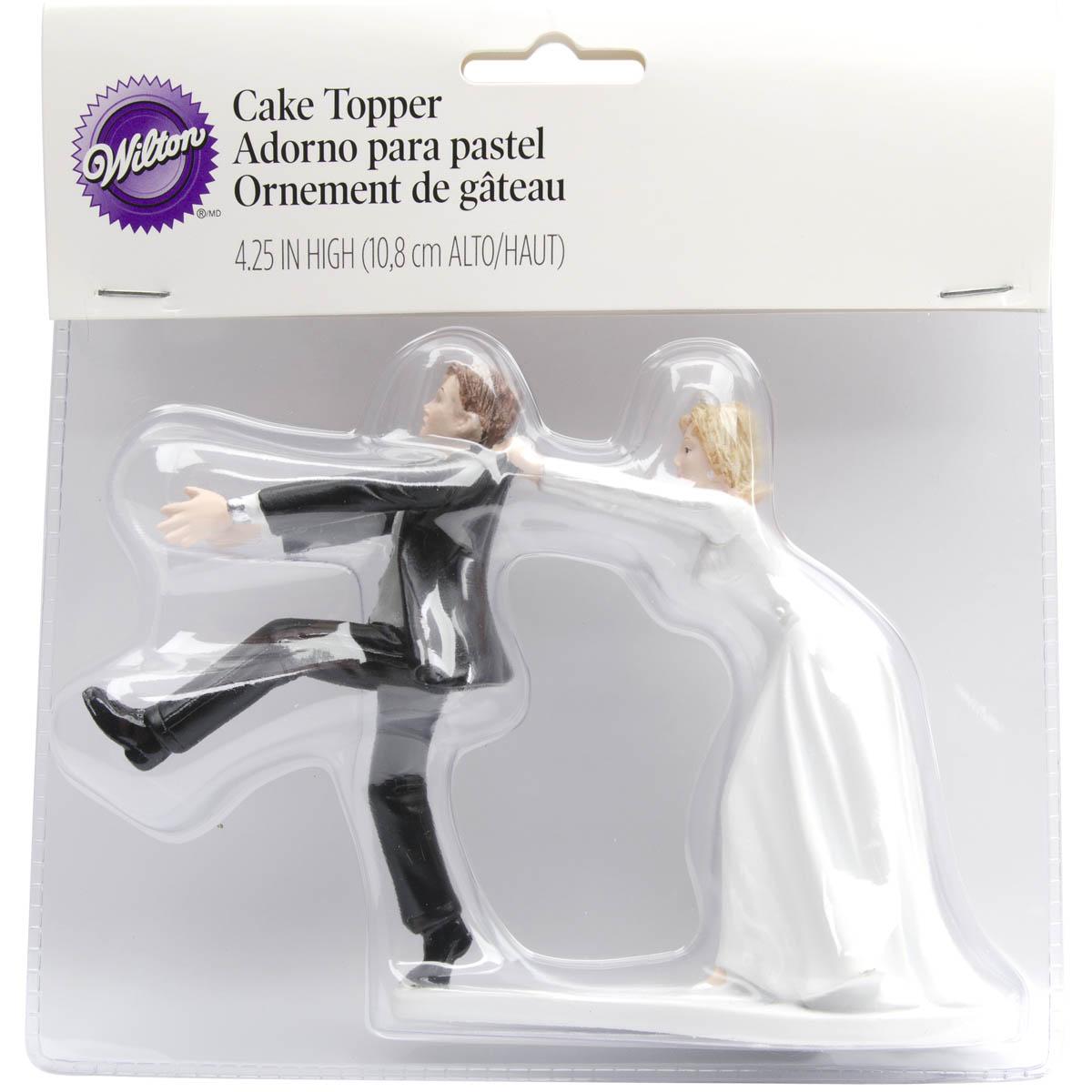 Wilton 425u0022x65u0022 Humorous Wedding Cake Topper