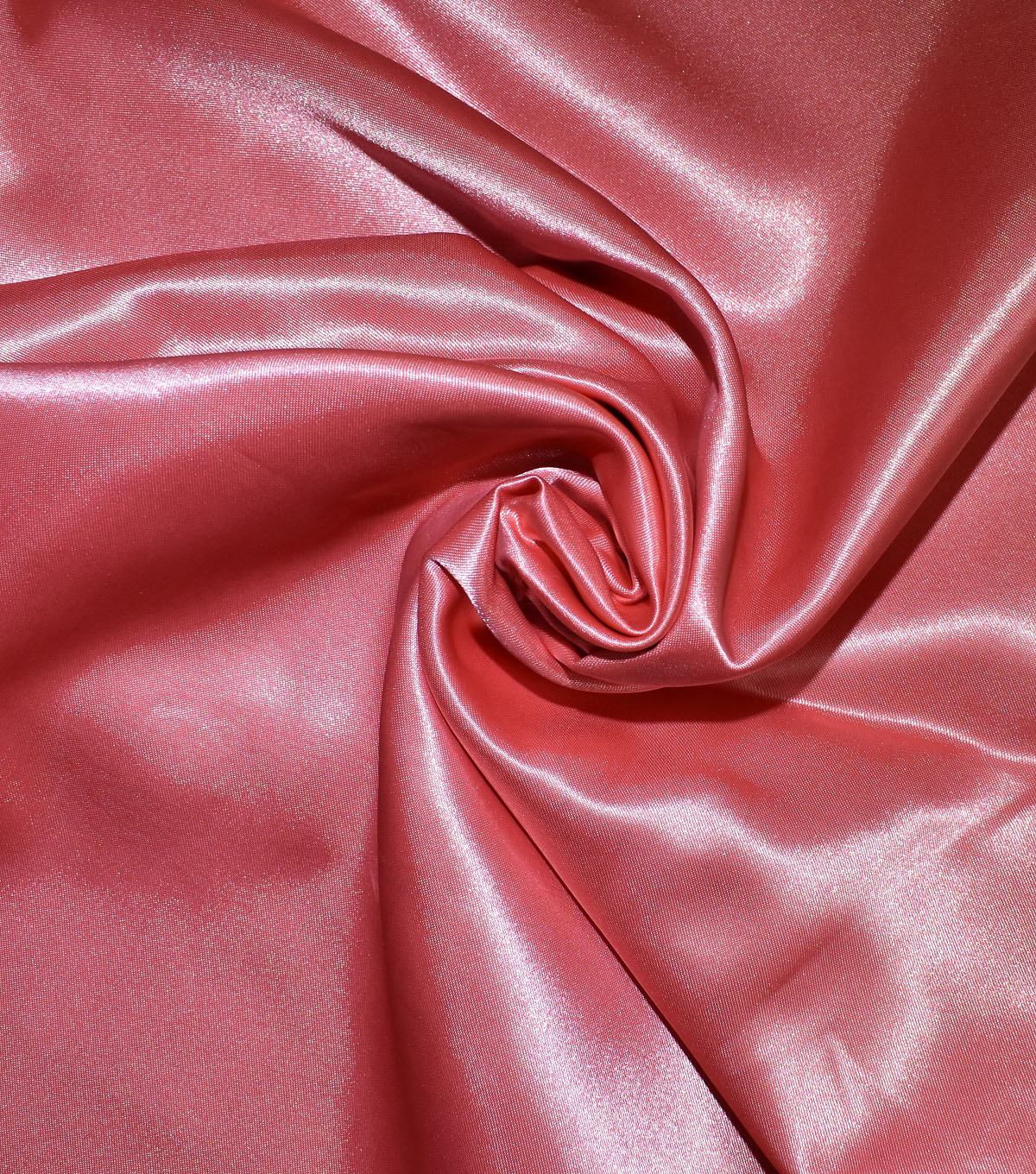 Casa Collection Shiny Satin Fabric, Shell Pink