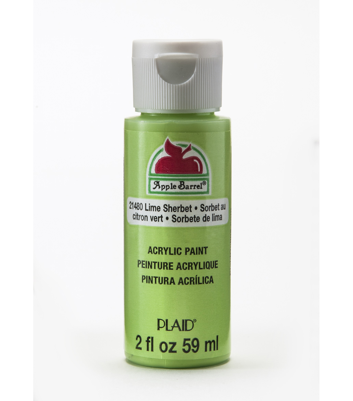 Apple Barrel 2 fl. oz. Acrylic Paint, Lime Sherbert