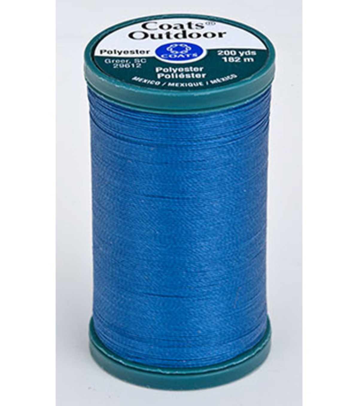 Coats & Clark Outdoor 200yd Thread, Coats Outdoor 200yd Monaco Blu