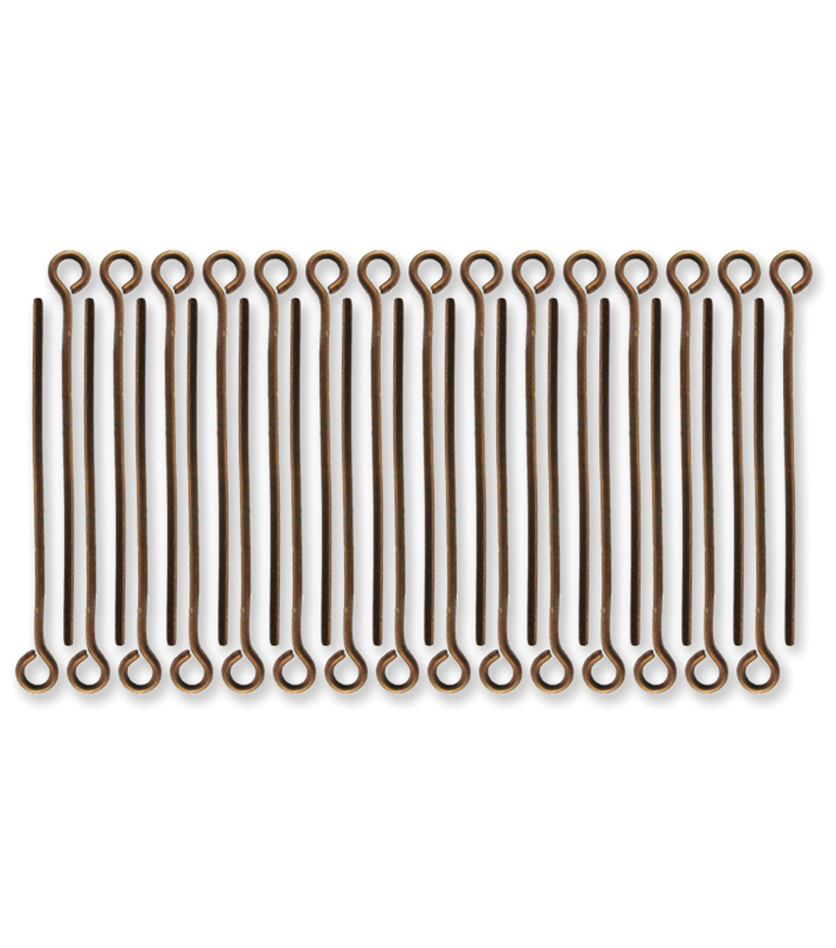 Vintaj Metal Eye Pins-1\u0022