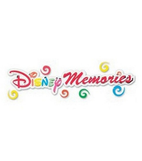 Disney Title Stickers-Memories