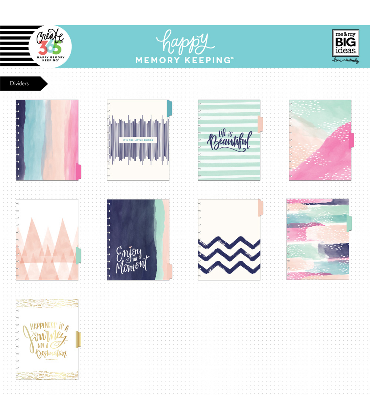 The Happy Planner Happy Memory Keeping  Big Box Kit-Life is Beautiful