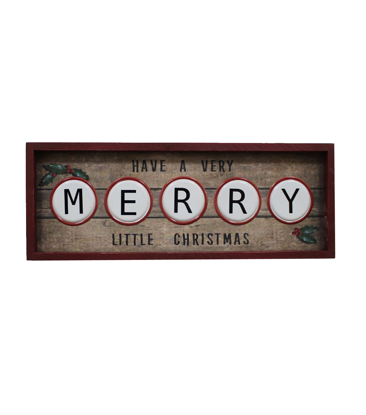 Maker\u0027s Holiday Christmas Wall Decor-Have a Very Merry Little Christmas
