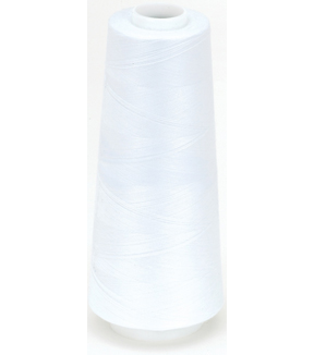 Coats Surelock Overlock Thread 3,000yd - White Multipack of 6