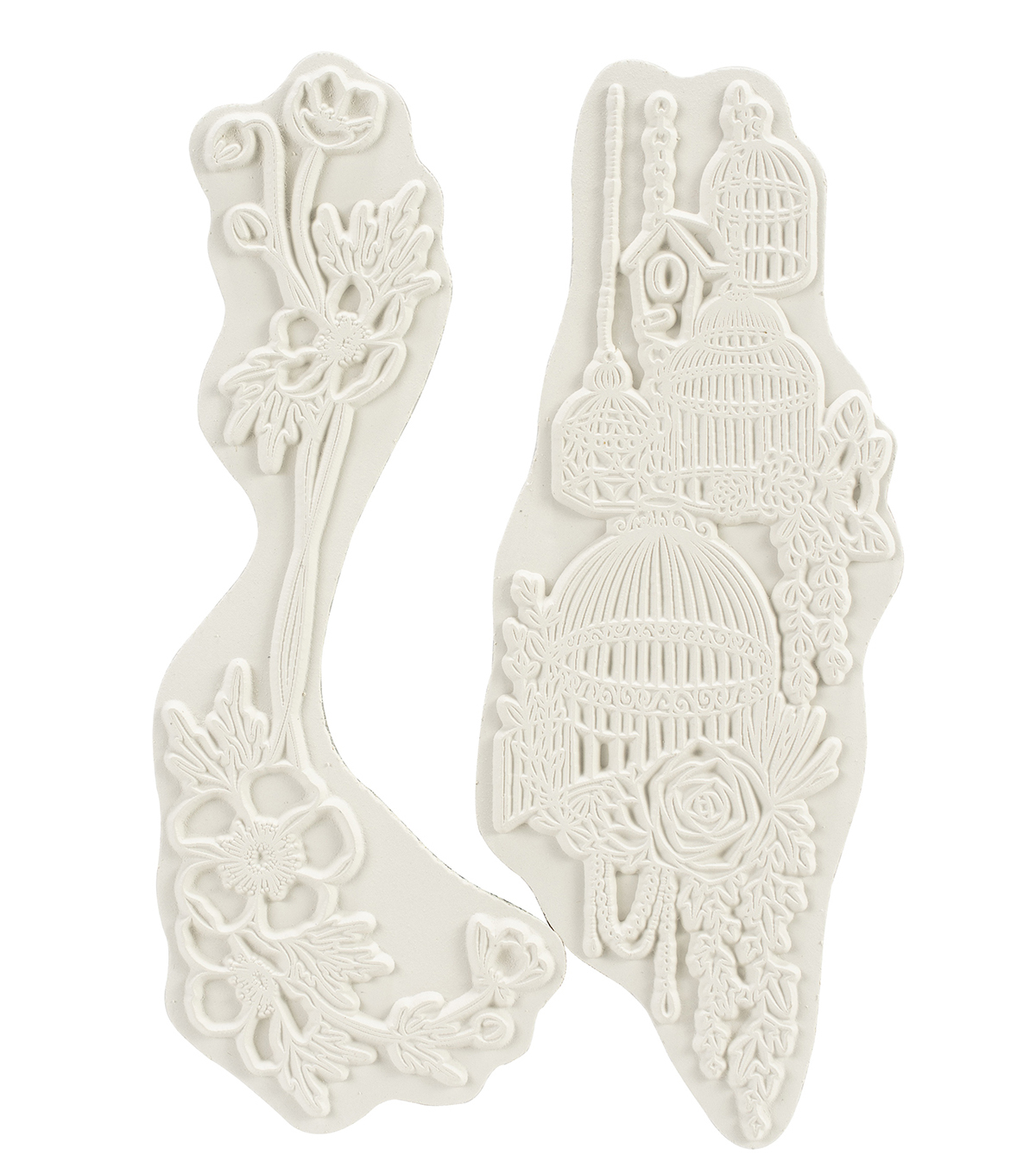 Carabelle Studio Cling Stamp A6 By Sultane-French Flowers