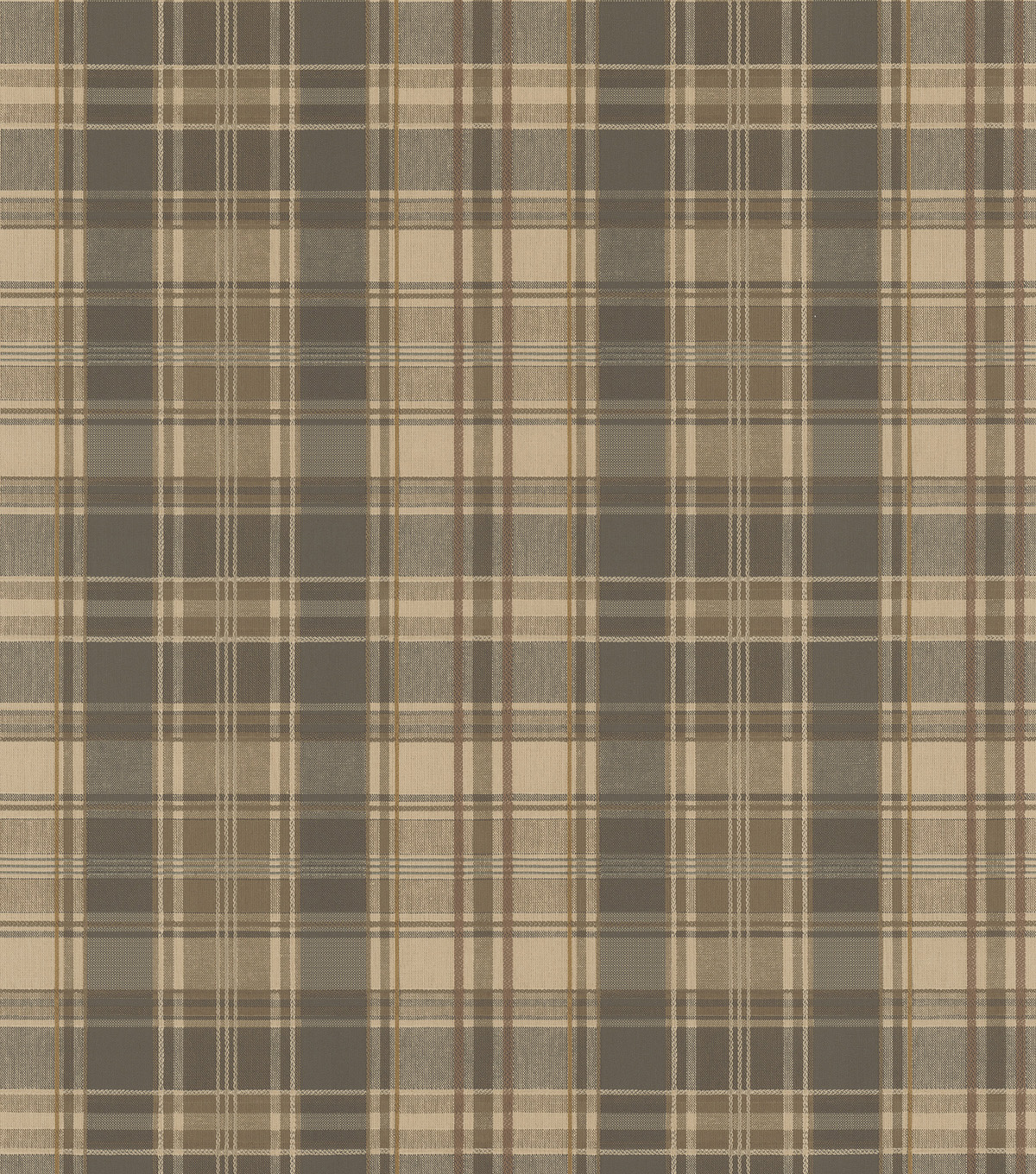 Moore Olive Plaid Wallpaper Sample