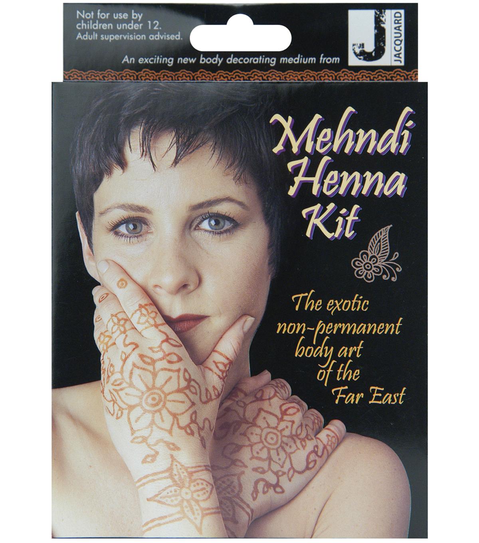 Jacquard Mehndi Henna Kit - Henna Tattoo Kits | JOANN