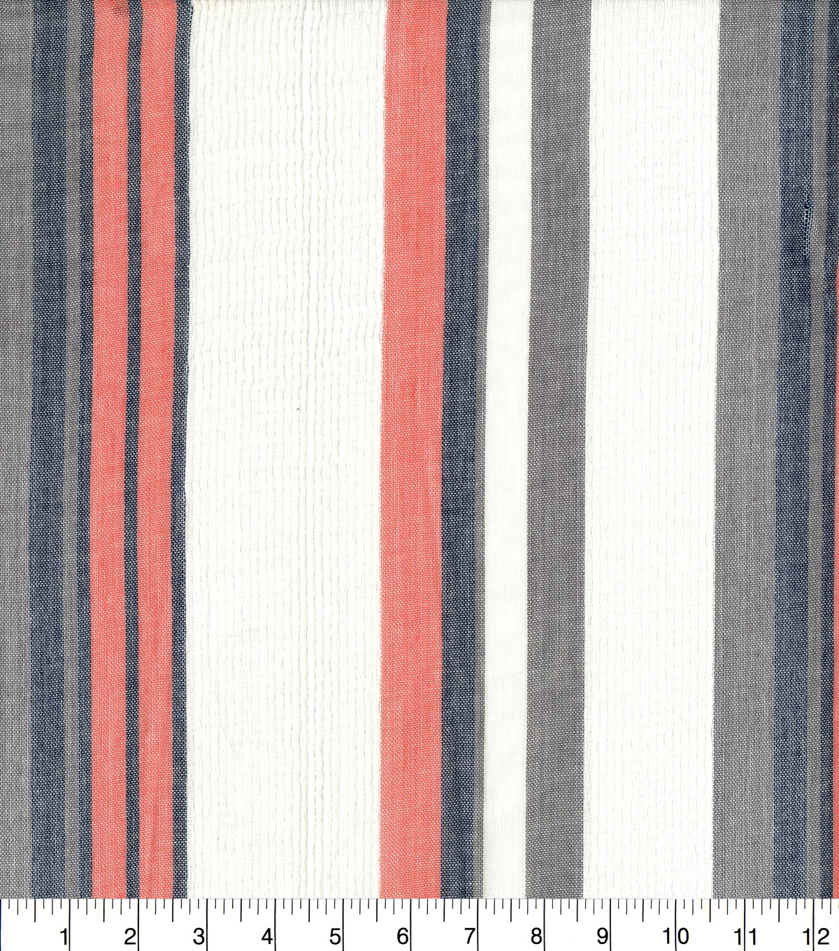 Earth Child Gauze Fabric 43\u0022-Textured Stripe