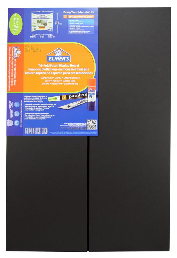 Black Foam Board Tri Fold Poster Board Joann