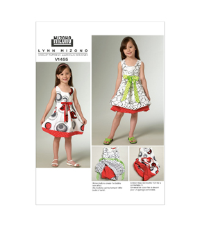 Vogue Patterns Child Dress-V1455