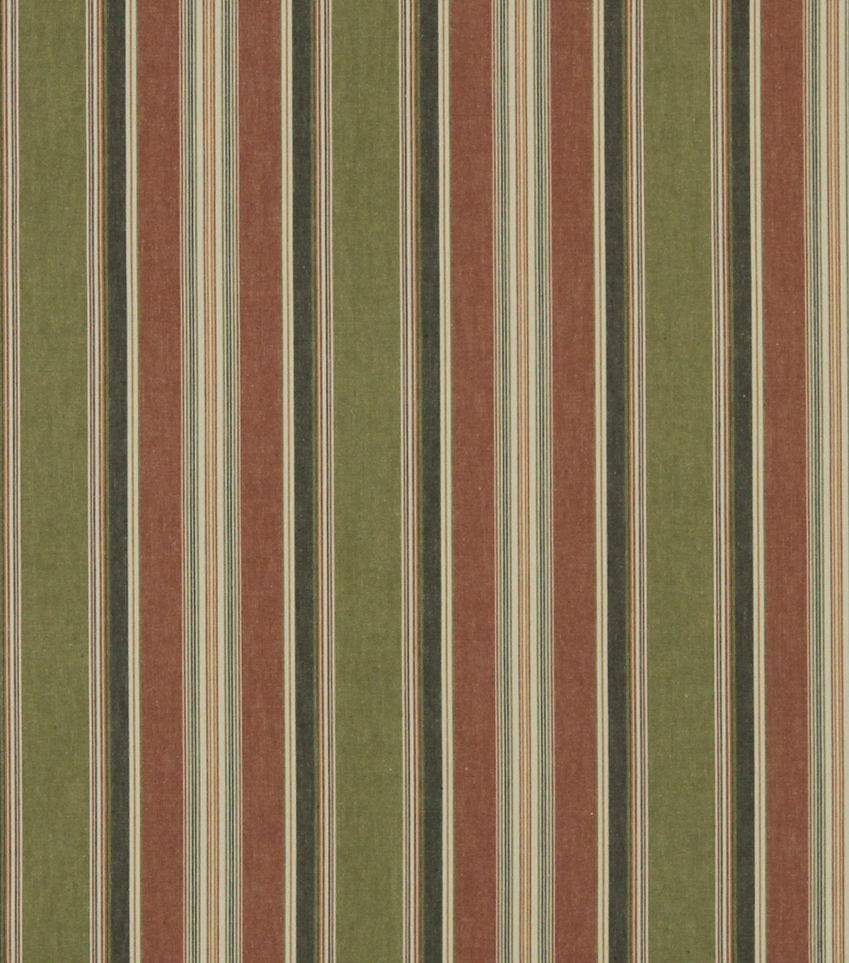 Home Decor 8\u0022x8\u0022 Fabric Swatch-Robert Allen Fresh Stripe Pomegranate