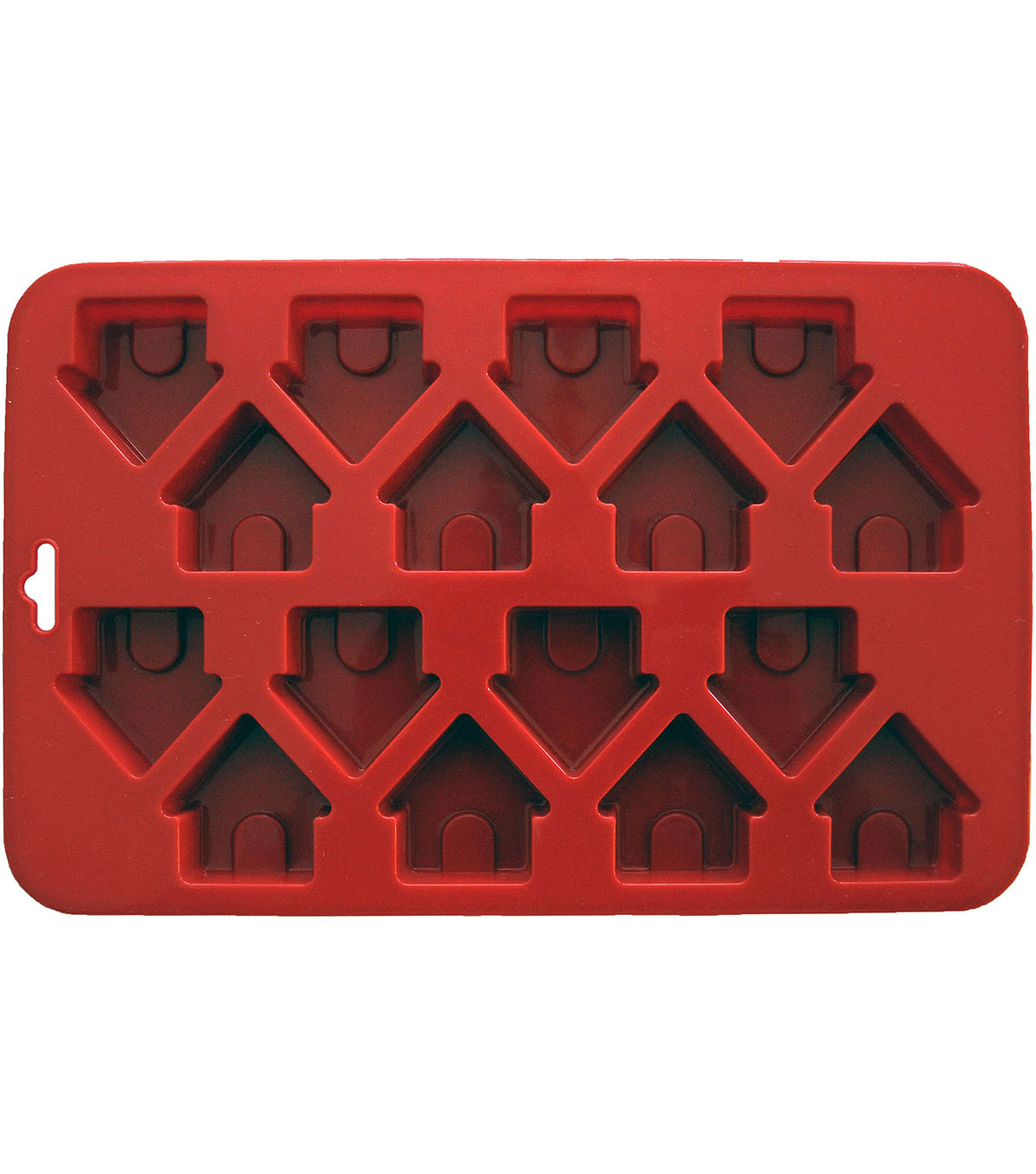 K9 Cakery- Mini Dog Houses Silicone Cake Pan-16 Cavity