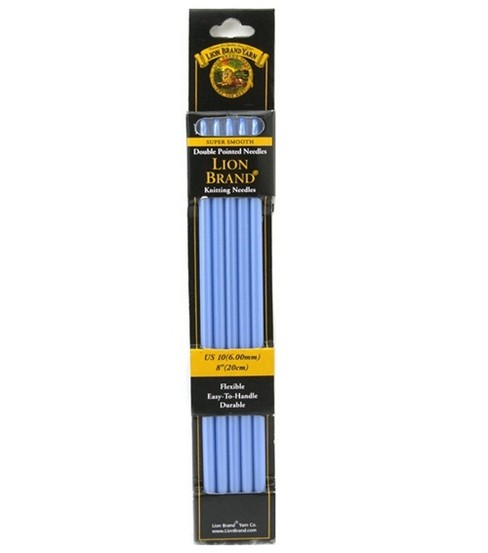 Lion Brand Double Point Knitting Needles 8\u0022-Size 10 6.0mm