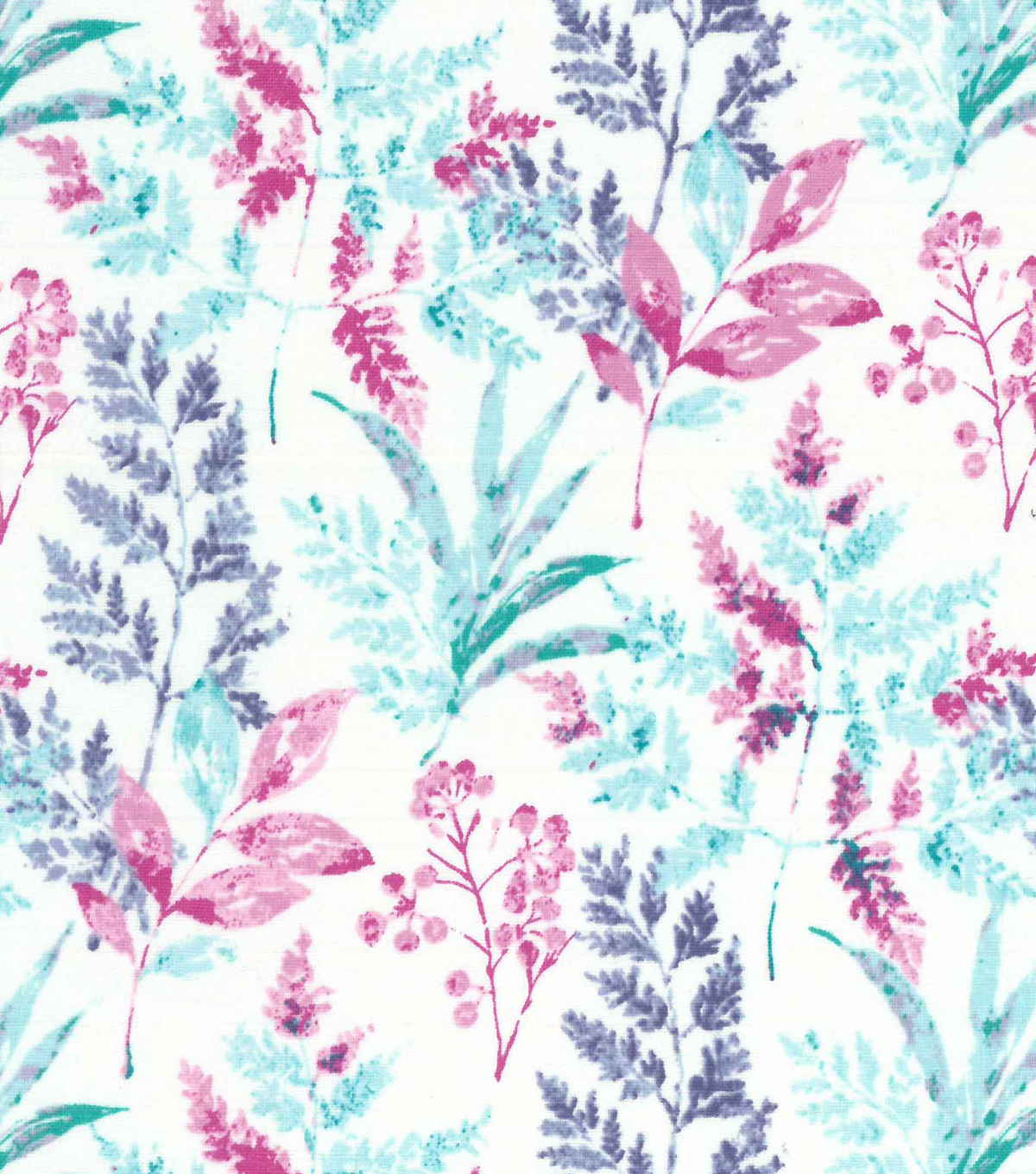 Premium Quilt Cotton Fabric -Floral Light Stems