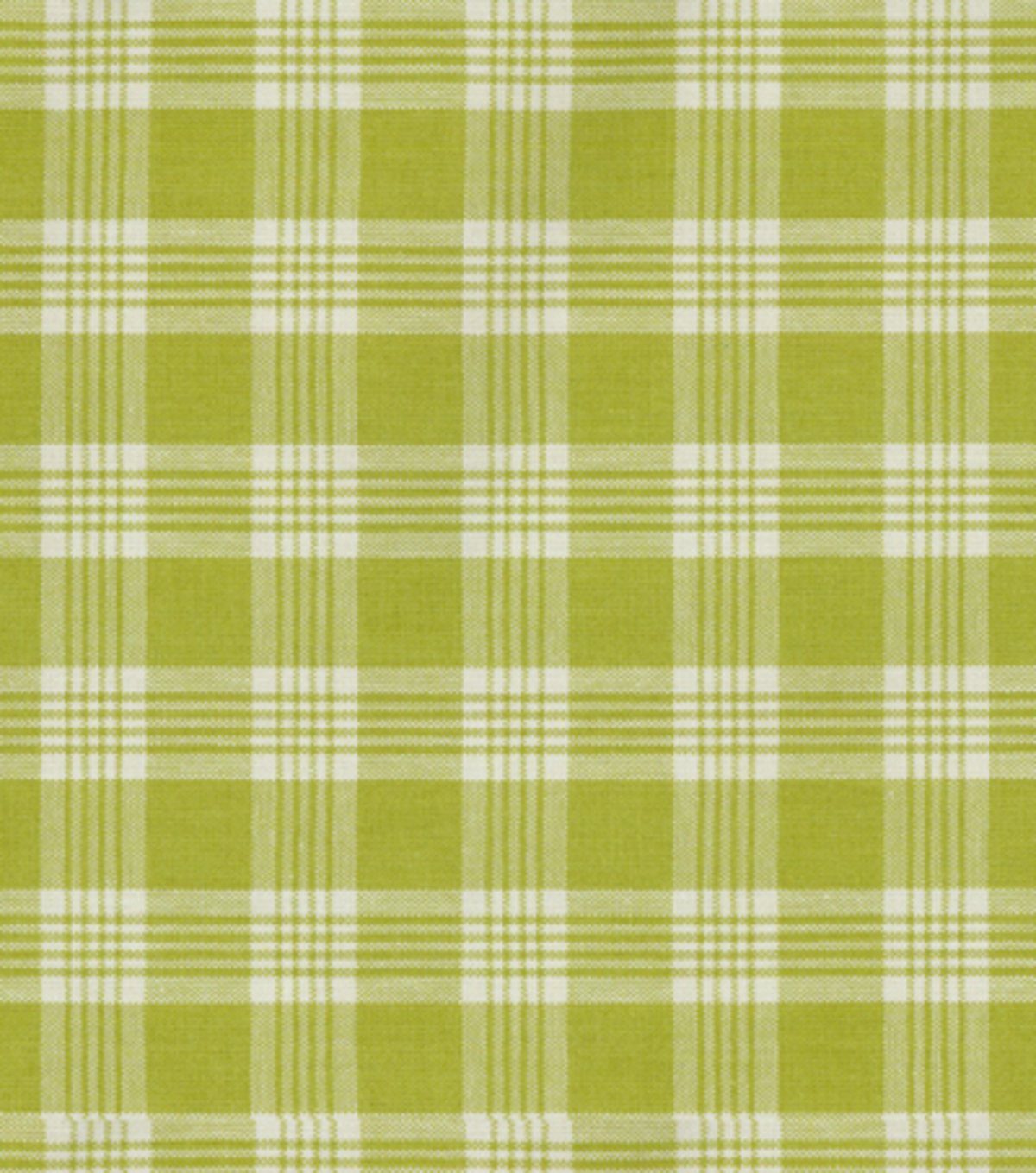 Home Decor 8\u0022x8\u0022 Fabric Swatch-Upholstery-Waverly Pendant Plaid/Snow Pea