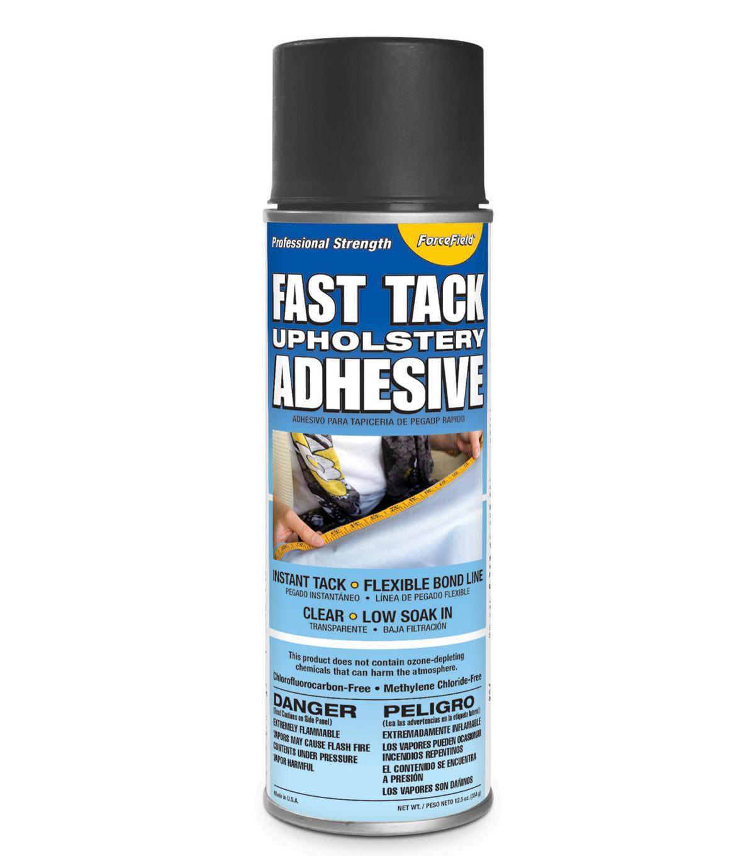 Force Field Fast Tack Uphol Adhesive 12Oz