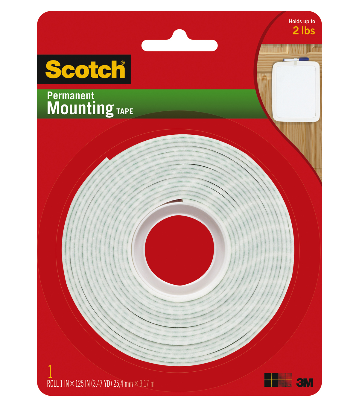 Scotch Mounting Tape Long