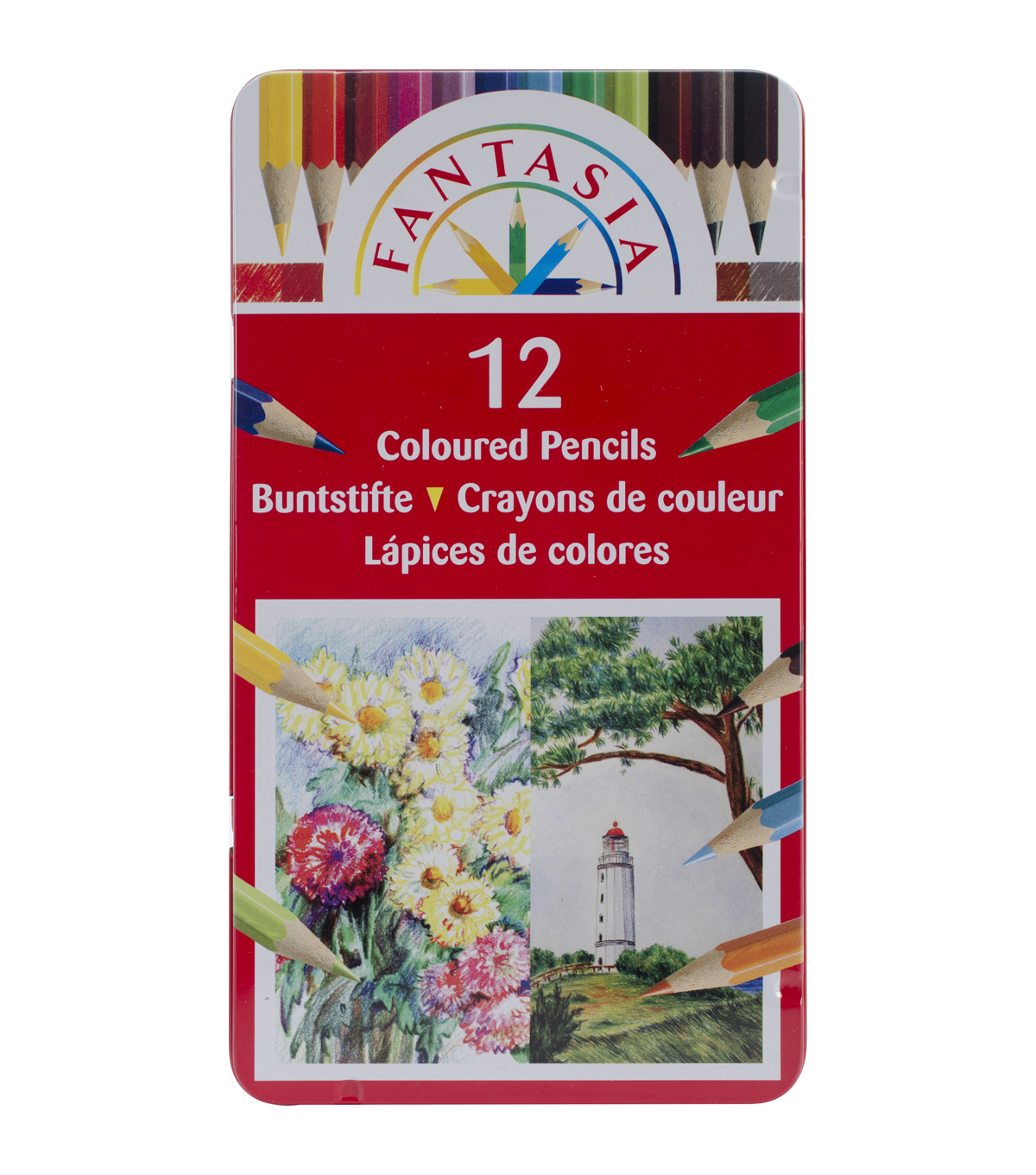 Fantasia Colored Pencils 12/Pkg