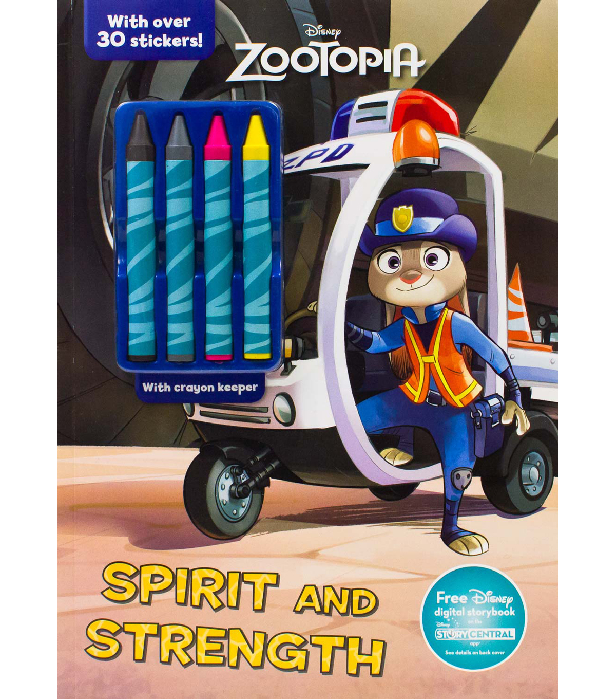 Parragon Disney Zootopia Spirit & Strength Activity Book