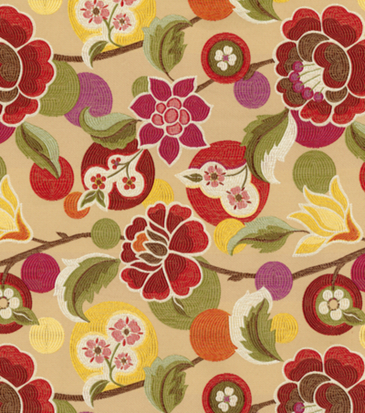 Attractive Richloom Studio Multi Purpose Decor Fabric Tamra Garden