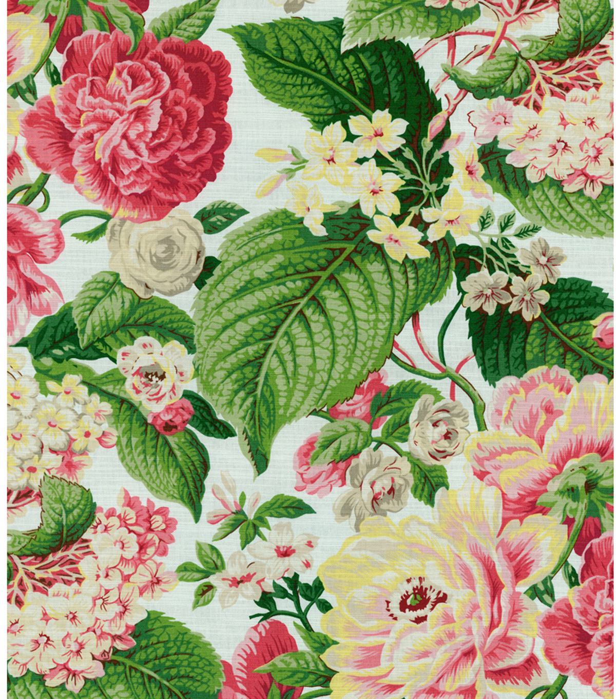 Waverly Lightweight Decor Fabric 54u0022 Floral Flourish Spring