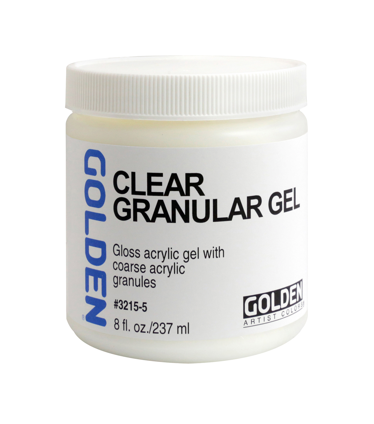 Golden Clear Granular Gel 8oz.