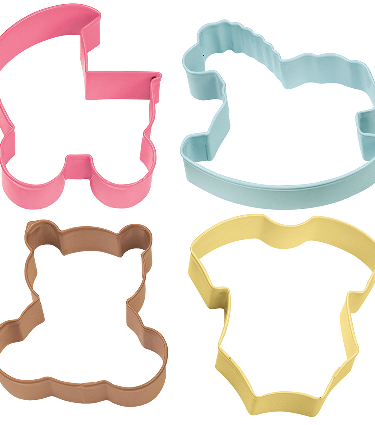 Wilton Metal Cookie Cutter Set-Baby Theme