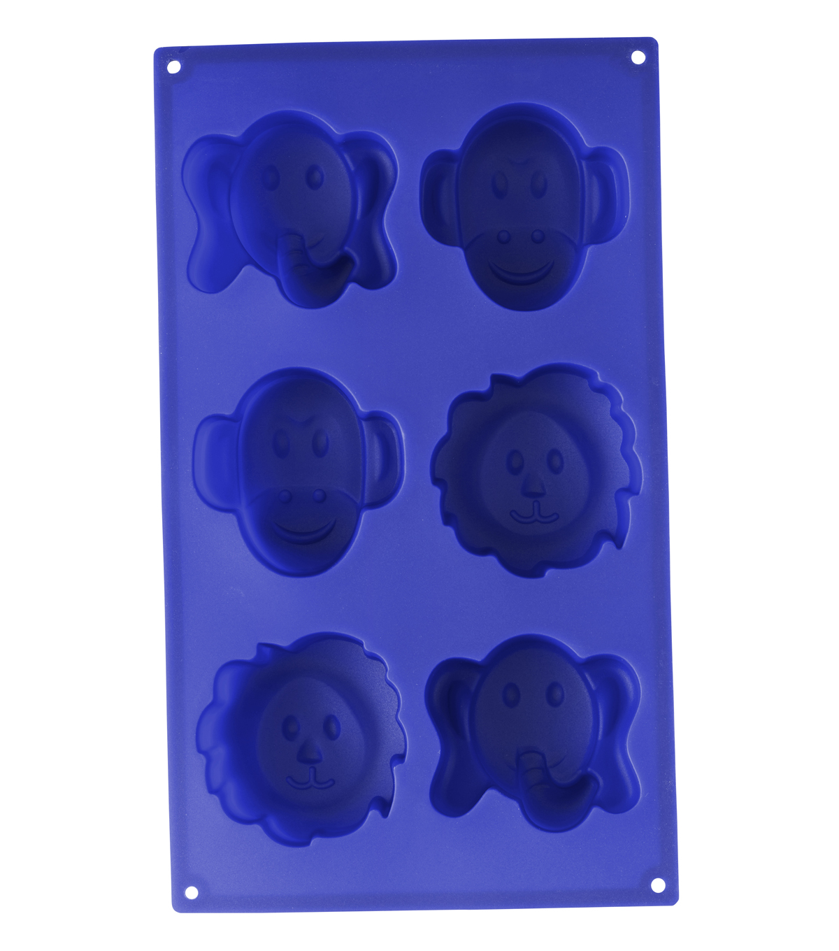 Wilton Animal Face Silicone Candy Mold