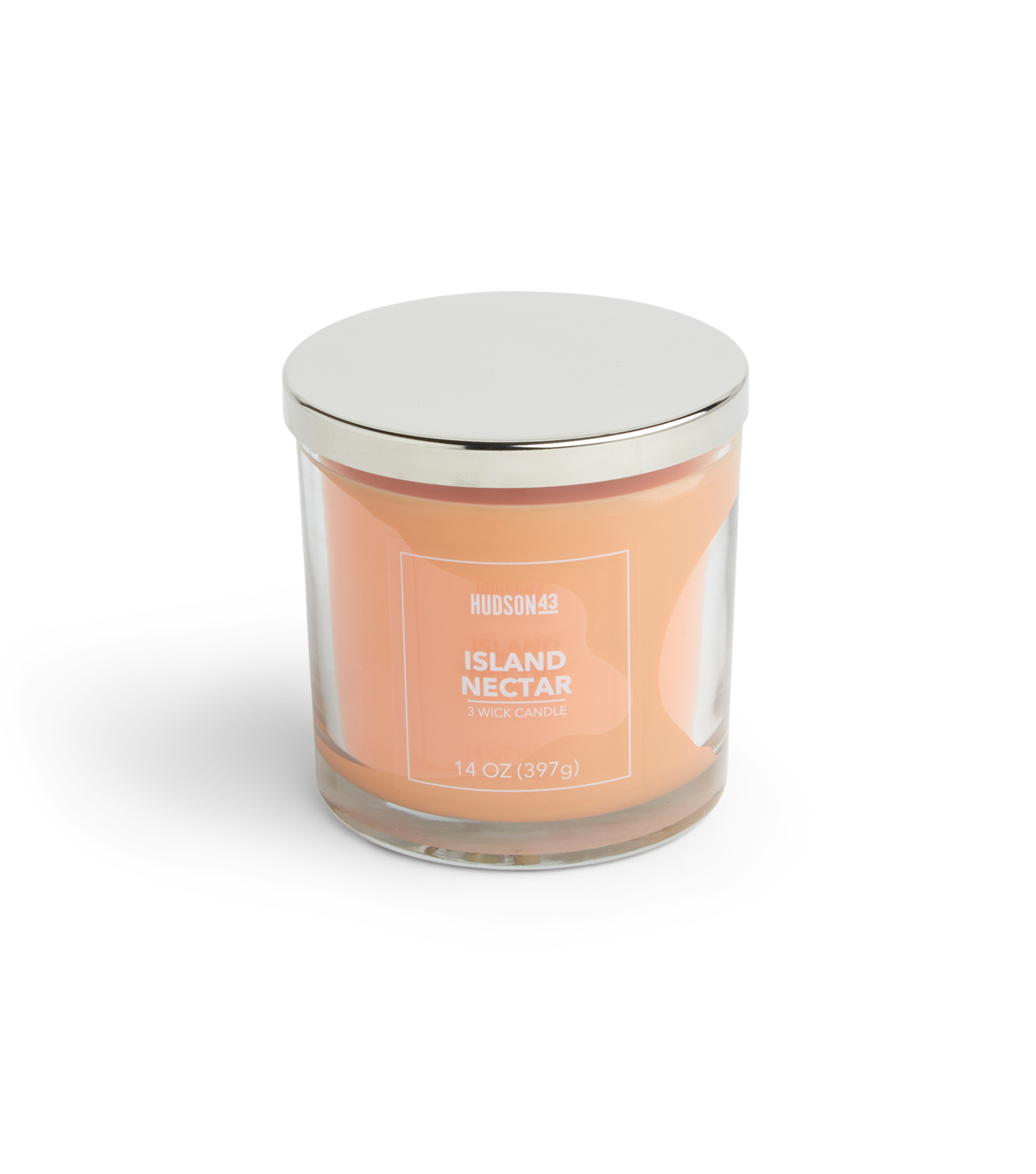 Hudson 43 Candle & Light 14 oz. Island Nectar Premium Scented Jar Candle