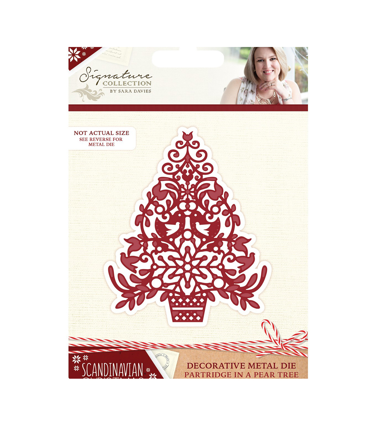 Crafter\u0027s Companion Sara Davies Signature Die-Partridge in a Pear Tree