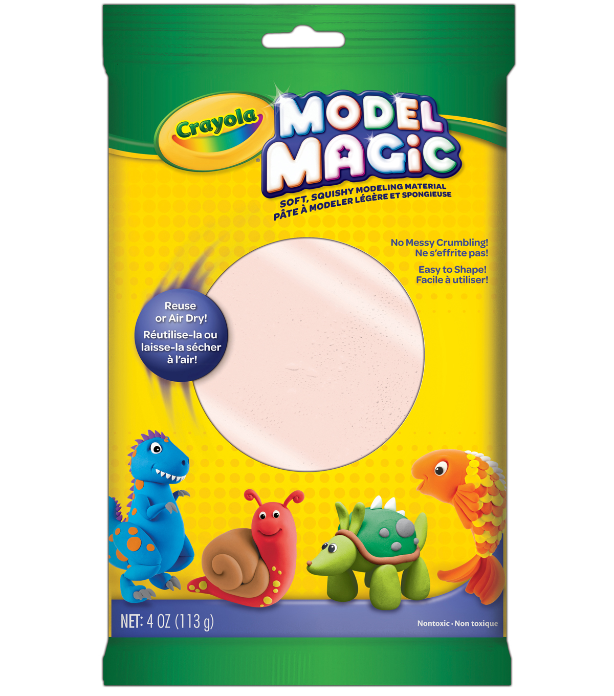 Crayola Model Magic Modeling Clay, Bisque