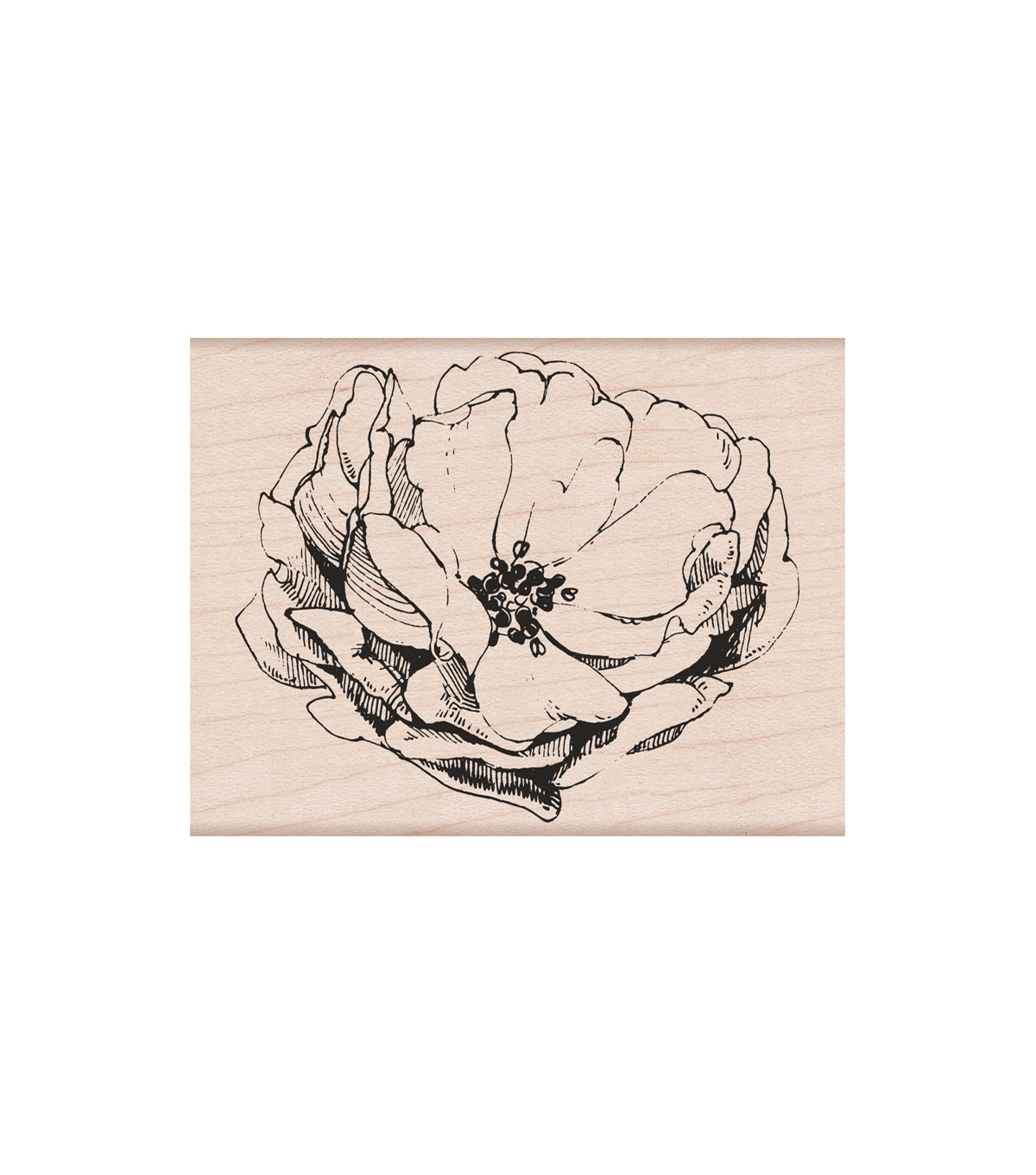Hero Arts Wood Mounted Rubber Stamp-Antique Rose