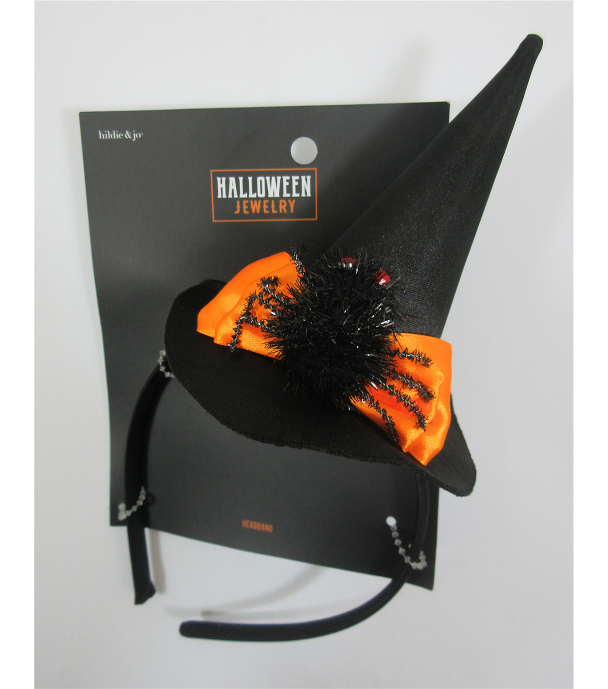 hildie & jo Halloween Jewelry Witch Hat Headband