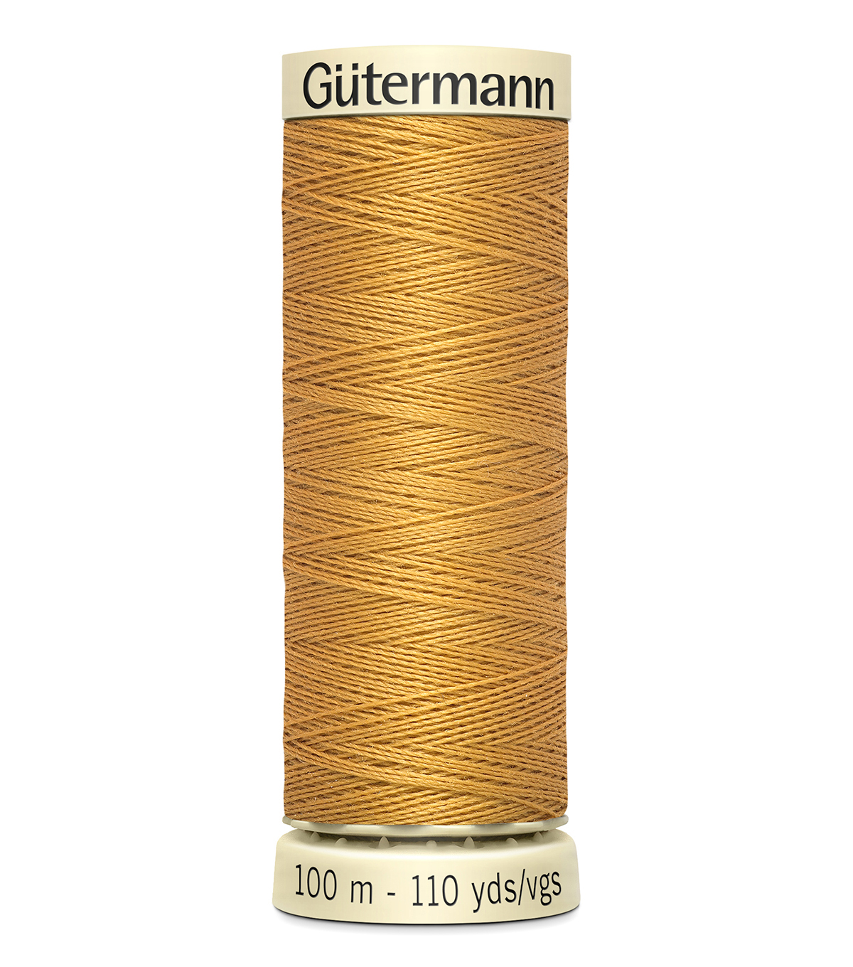 Gutermann Sew All Polyester Thread 110 Yards-Oranges & Yellows , Gold #865