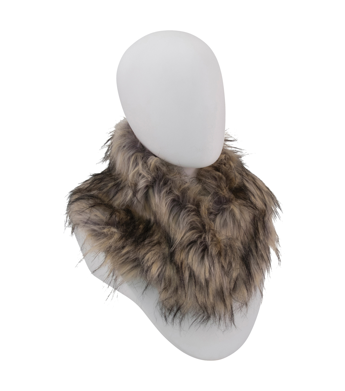 Maker\u0027s Halloween Adult Fur Collar-Brown