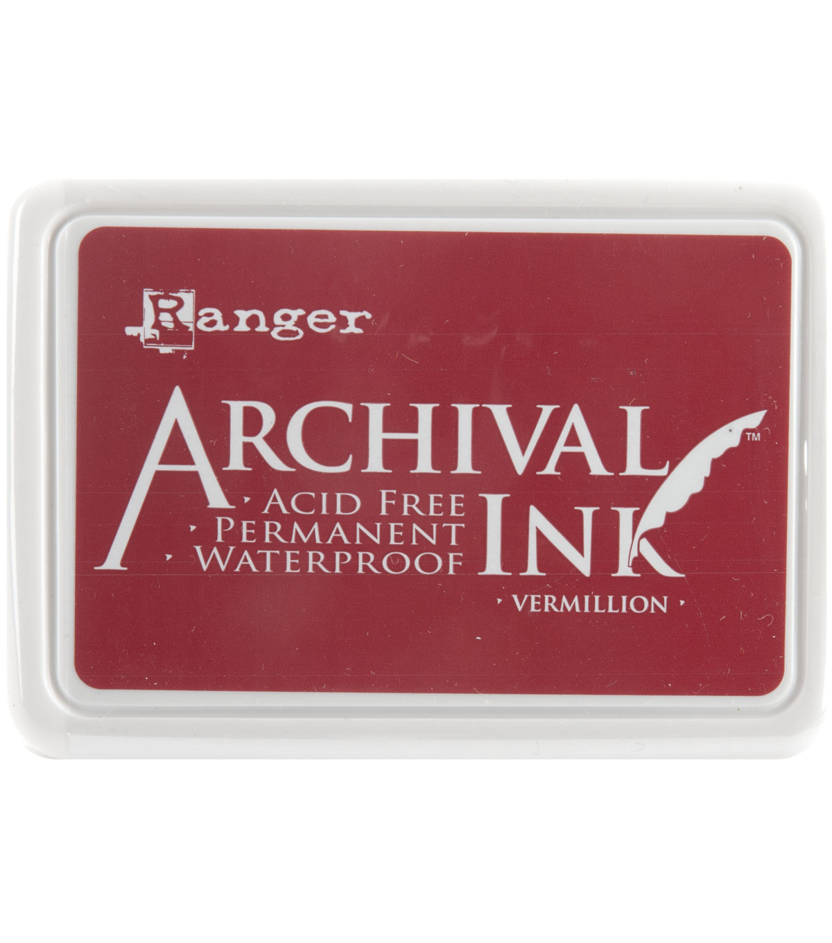 Archival Inkpad, Vermillion