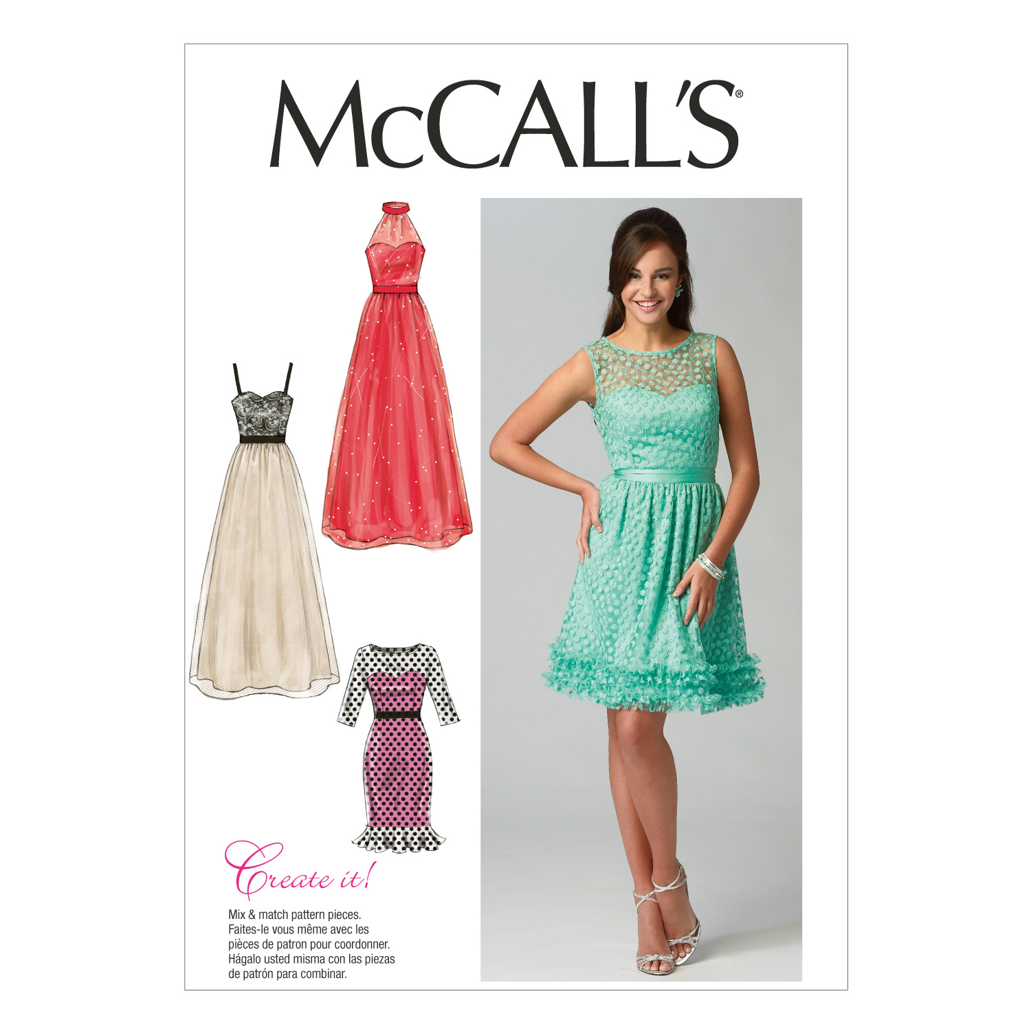 McCall\u0027s Misses Special Occasion-M6893