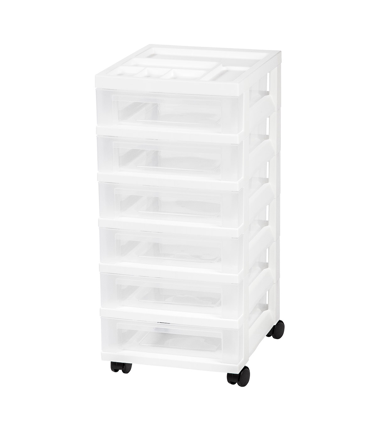 IRIS 6-Drawer Cart