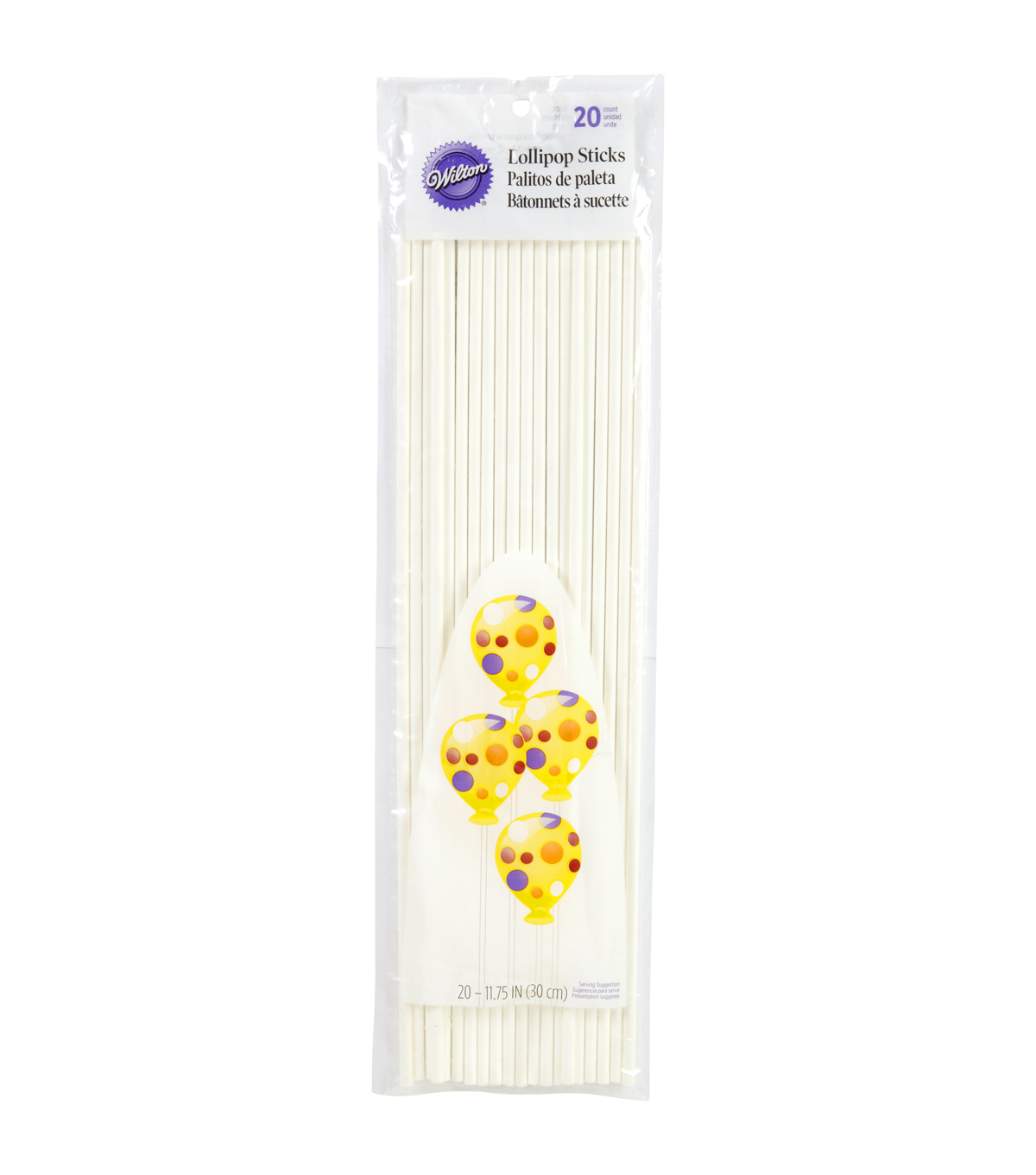 Wilton 11-3/4\u0027\u0027 Lollipop Sticks-20PK