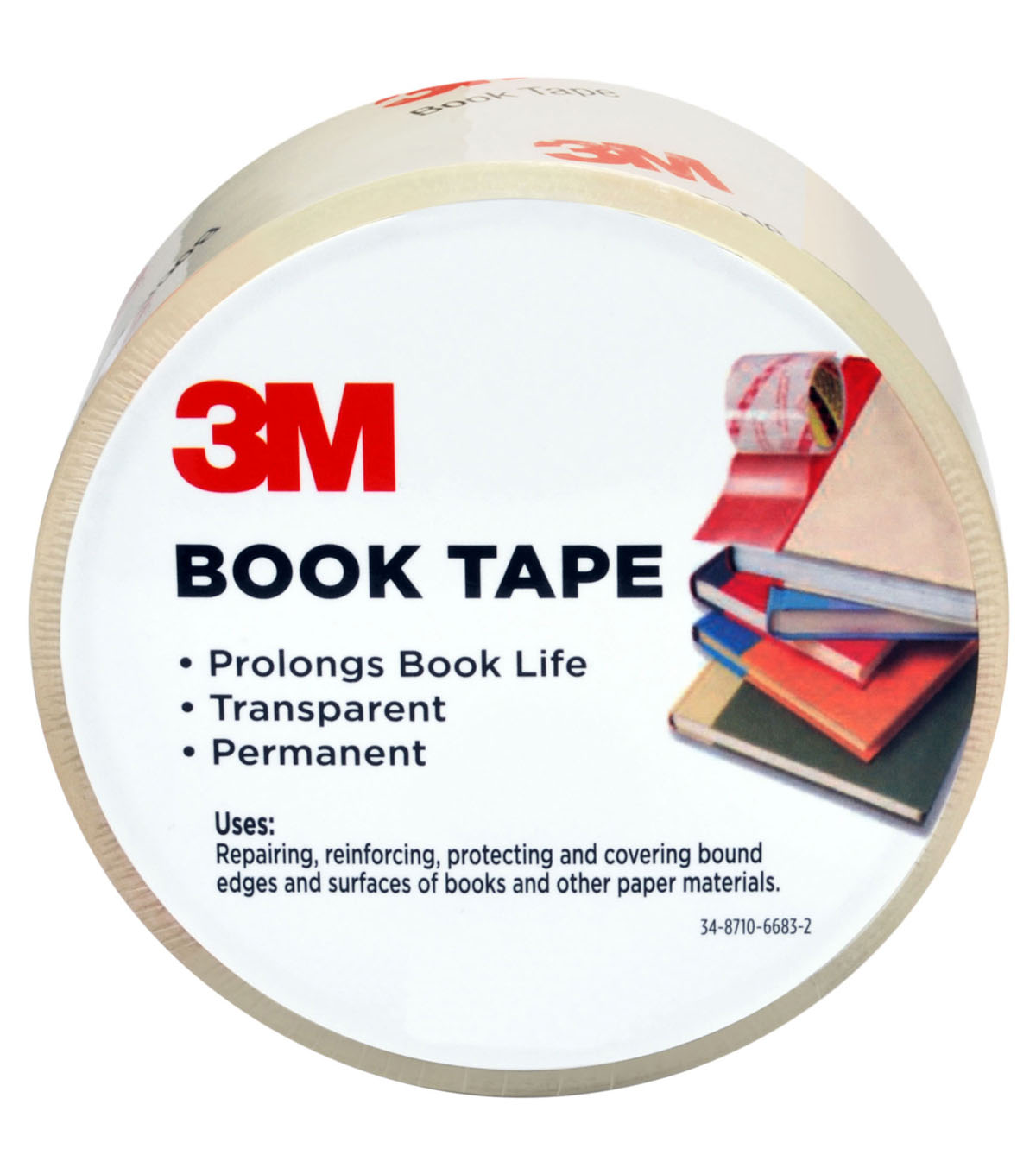 3M Book Tape 1.83\u0027\u0027x15 yds
