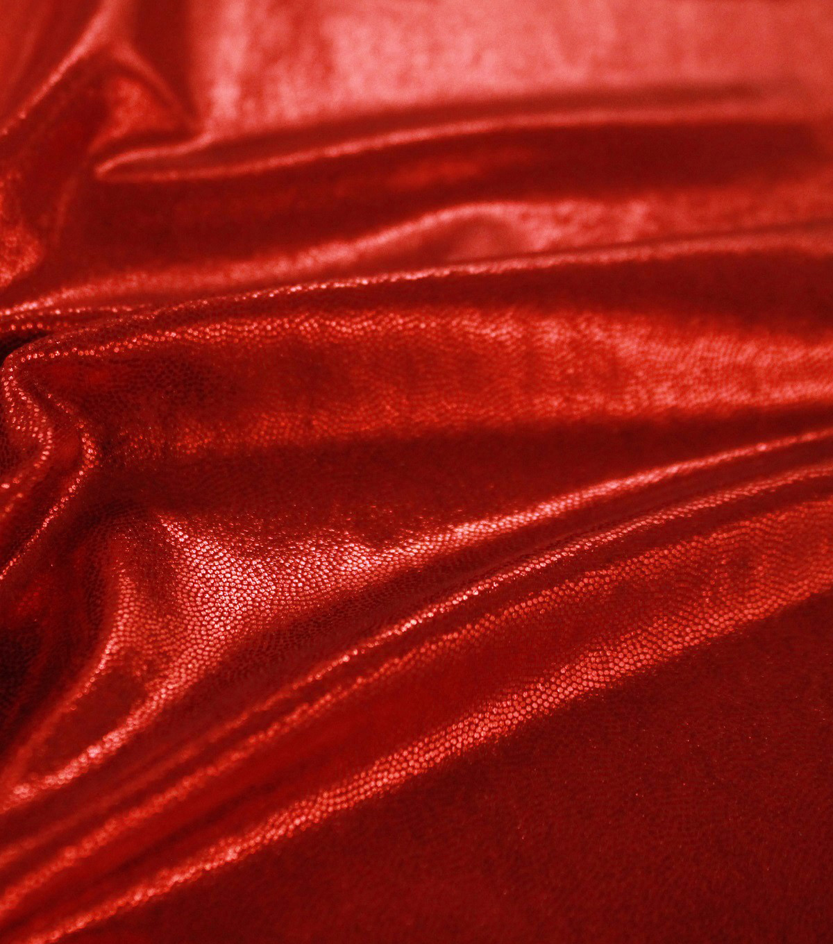 Performance Mystique Polyester & Spandex Fabric -Volcano Red
