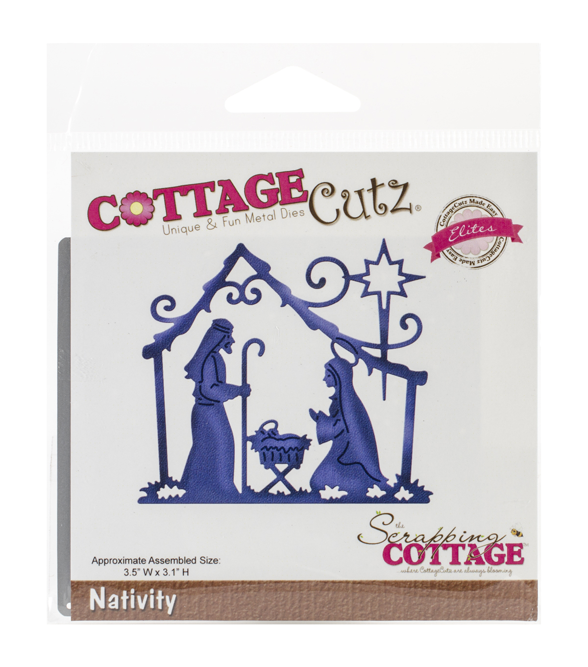 CottageCutz Elites Nativity Dies