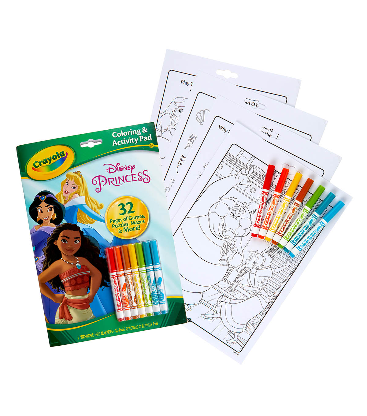 Crayola Coloring & Activity Set-Disney Princess