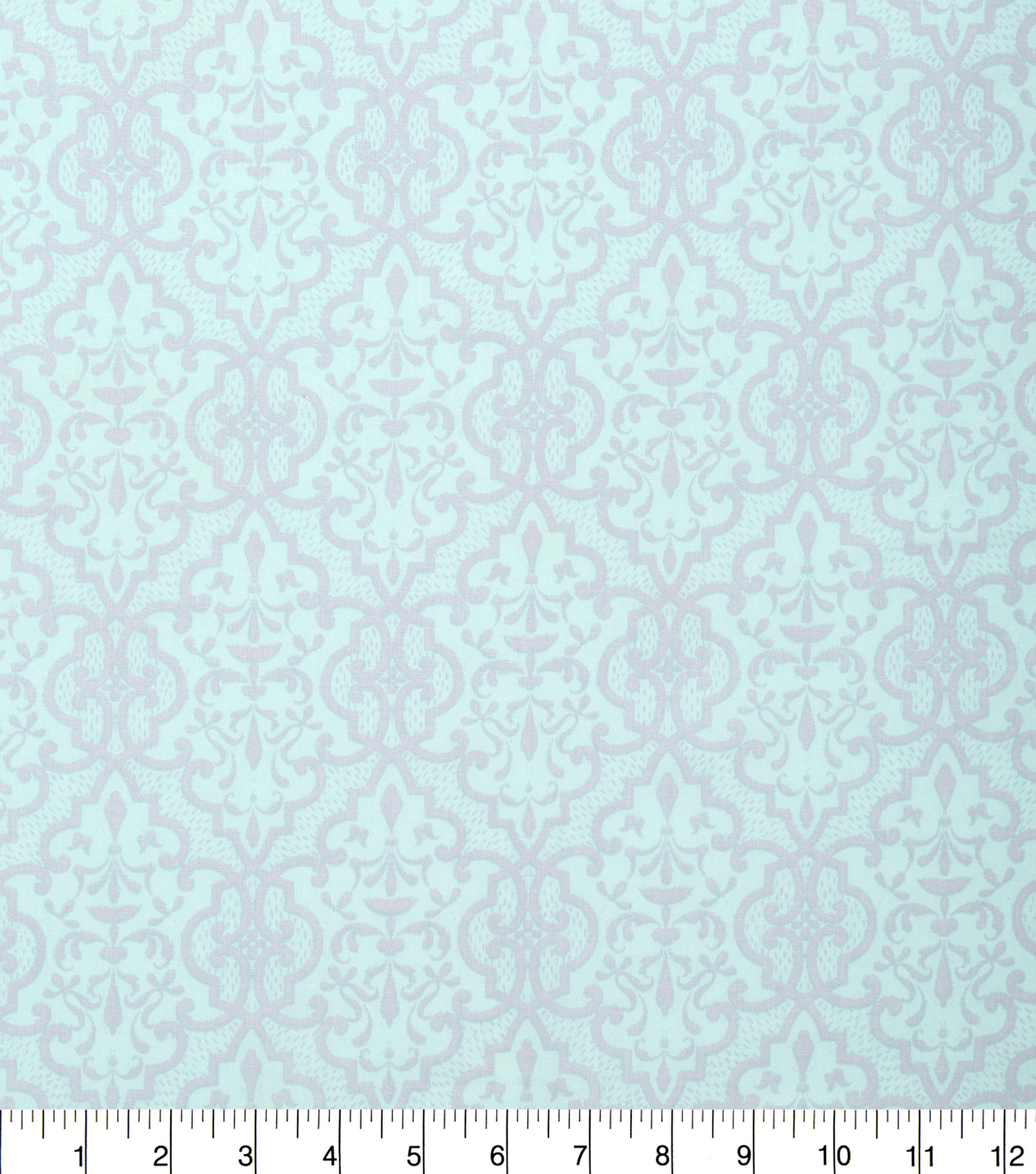 Keepsake Calico Cotton Fabric 43\u0022-Blue and Gray Lace