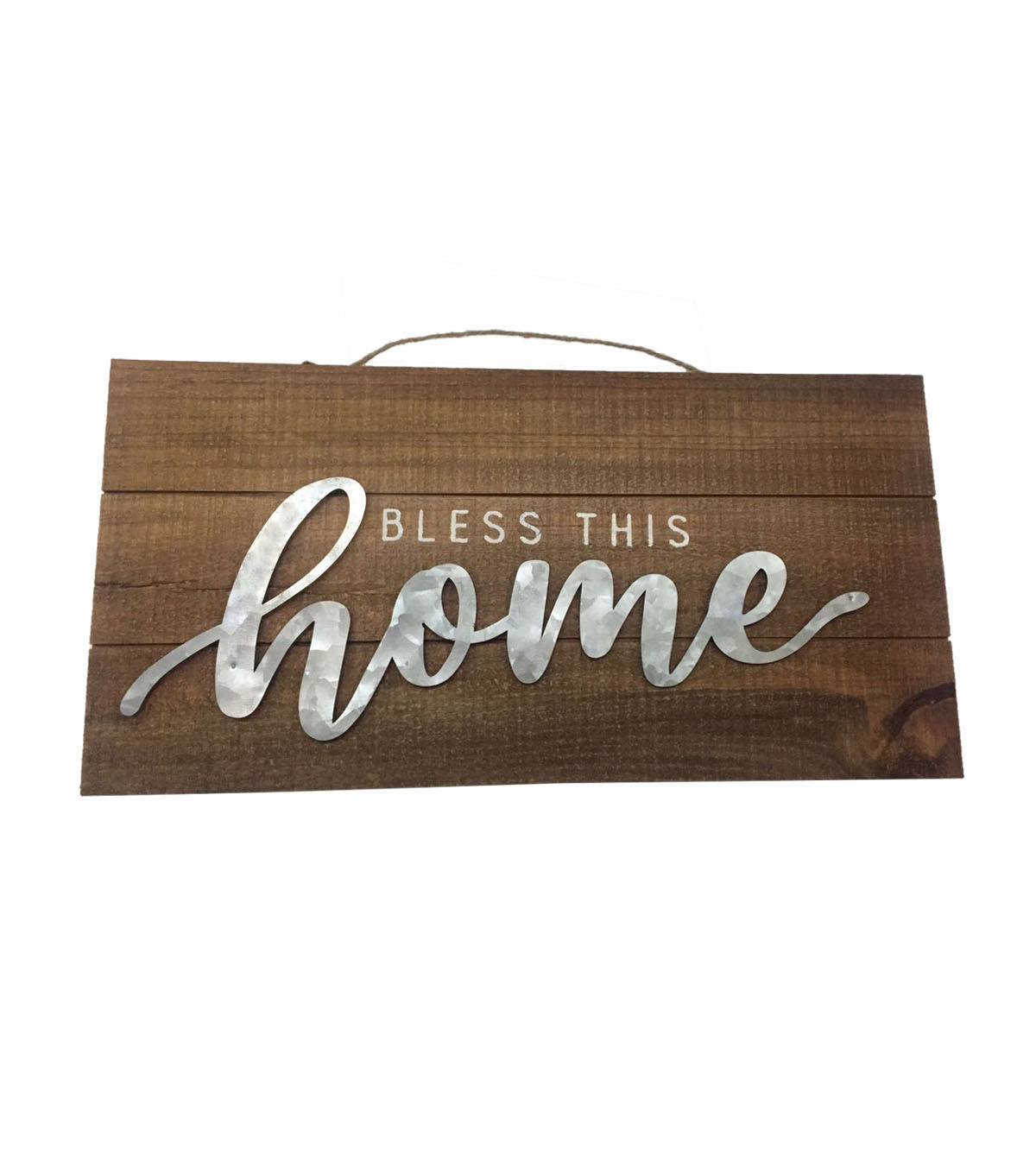 Hudson 43 Wood Wall Decor-Bless This Home
