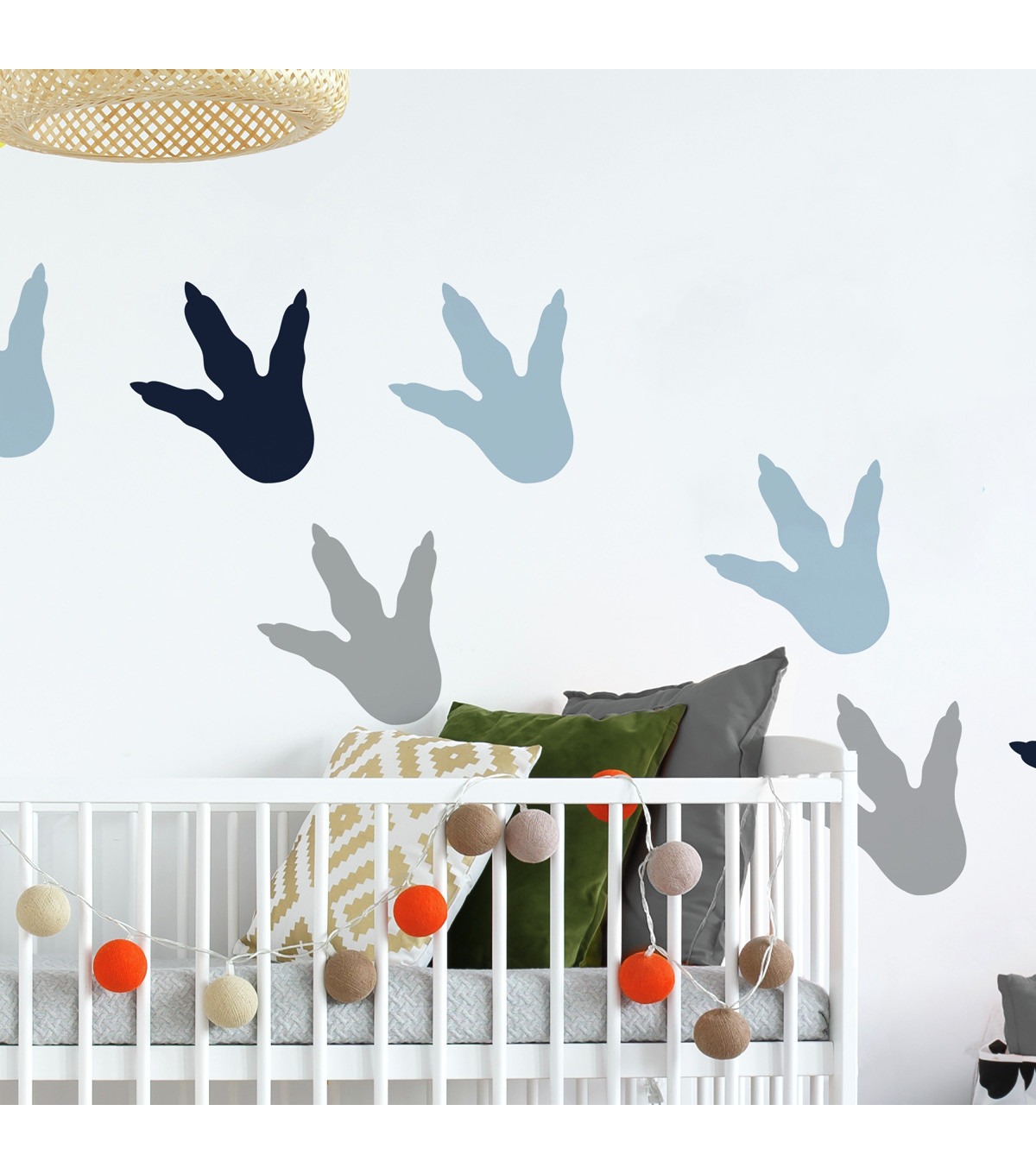 York Wallcoverings Wall Decals-Dino Feet